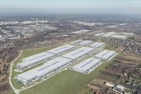 Panattoni Central European Logistics Hub zbliża się do półmetka
