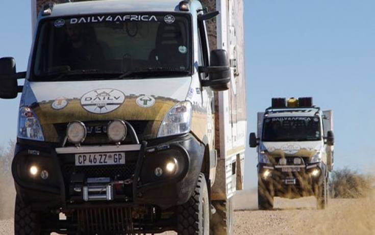 """Daily4Africa"" - misja Iveco"