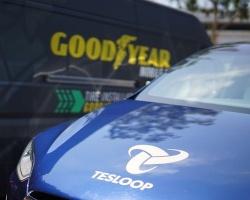 Goodyear testuje inteligentne opony i system zarządzania dla autonomicznej floty