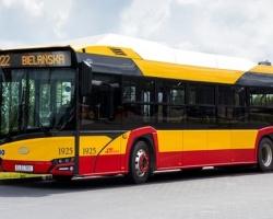 Solaris dostarczy kolejnych 10 autobusów elektrycznych do Miejskich Zakładów Autobusowych w Warszawie