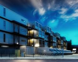 Modelowanie budynków wielofunkcyjnych stanowiących elementy systemu logistycznego miasta