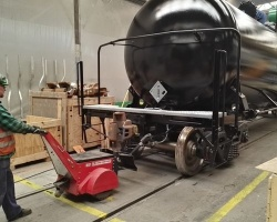 Wagony Świdnica S.A. zwiększa wydajność logistyki linii produkcyjnej