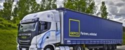 GEFCO testuje ciężarówkę IVECO z jednopaliwowym silnikiem LNG