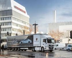 E-ciężarówki MAN mają zapewnić Porsche ekologiczną logistykę