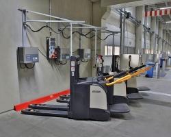 Dachser przechodzi na technologię litowo-jonową i redukuje CO2