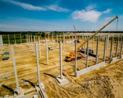 Antczak Construction buduje park magazynowy MLP Group