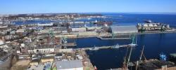 Tereny od Stoczni Nauta dla Portu Gdynia