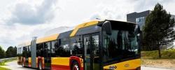 Solaris dostarcza pierwszy przegubowy autobus elektryczny do stolicy