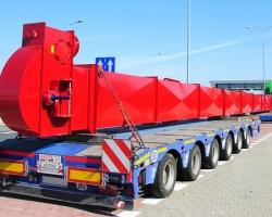 PEKAES wprowadza nową usługę - przewóz ładunków ponadgabarytowych