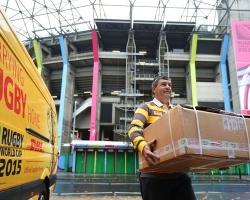 DHL oficjalnym partnerem logistycznym Rugby World Cup 2019
