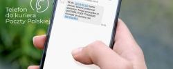 Poczta Polska z nową funkcjonalnością - sms z numerem telefonu do kuriera