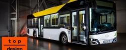 Solaris Urbino 12 LE lite hybrid z nagrodą Top Design Award 2019