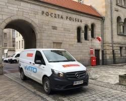 W Poznaniu pracownicy Poczty Polskiej testują auta elektryczne o ładowności powyżej 800 kg