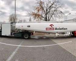 Grupa ORLEN inwestuje w nowoczesny sprzęt do tankowania samolotów