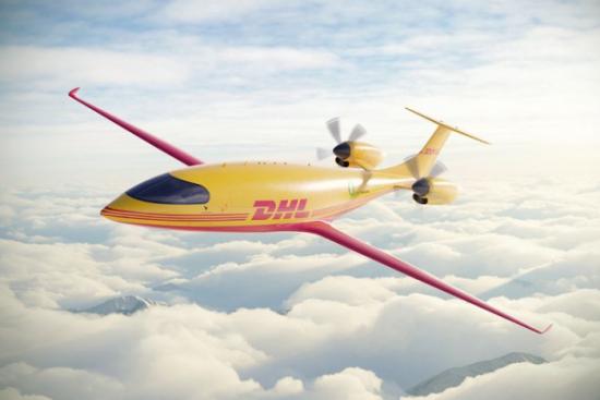 Elektryczne samoloty towarowe we flocie DHL Express