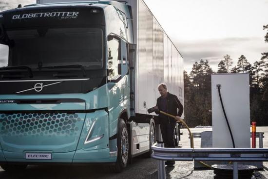 Koncepcyjne elektryczne samochody ciężarowe od Volvo Trucks