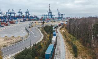 Pierwsze stałe połączenie kolejowe Chin i Gdańska