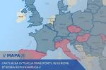 Interaktywna mapa  dla firm transportowych pomocna w dobie kryzysu