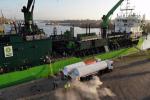 Pierwsze bunkrowanie statku gazem LNG w Szczecinie