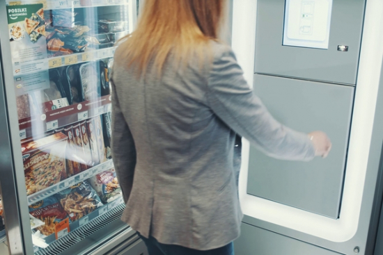 Żabka będzie mieć swoje automaty do obsługi paczek
