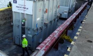 Kolejna realizacja dostawy project cargo przez Fracht FWO
