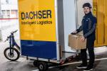 Czeski DACHSER uruchomił dostawy rowerem towarowym