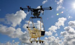 Drony przyszłością rynku usług transportowych