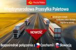 Międzynarodowa Przesyłka Paletowa Poczty Polskiej do Czech i na Słowację