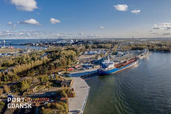 Zakończono kolejny etap modernizacji nabrzeży w Porcie Gdańsk
