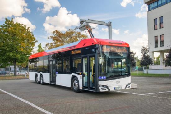 Solaris zaprezentował nowy autobus elektryczny - Urbino 15 LE electric