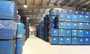 Logistyka magazynowania  i produkcji opakowań z tworzyw sztucznych