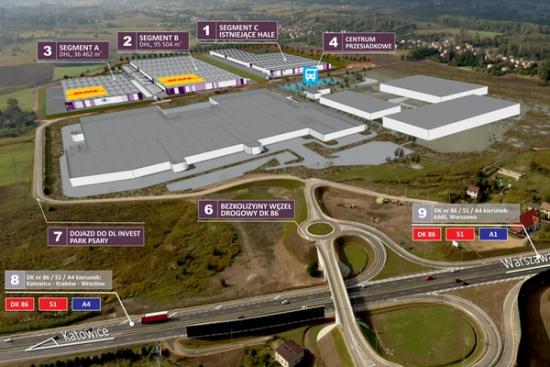 DHL i DL Invest Group tworzą  centrum logistyczne w Psarach