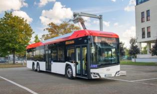 Solaris Urbino 15 LE electric najlepszym autobusem elektrycznym