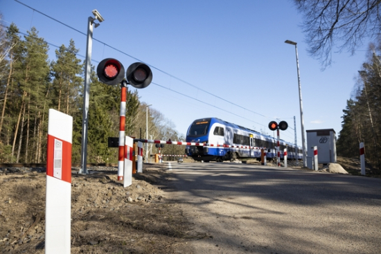 Monitoring ruchu na przejazdach kolejowo-drogowych