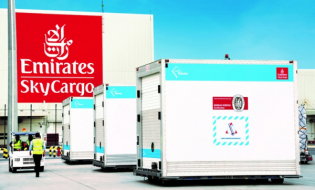 W Dubaju powstaje największy na świecie hub cargo przeznaczony do globalnej dystrybucji szczepionki przeciwko COVID-19