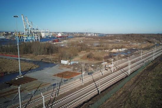 Port Szczecin-Świnoujście modernizuje infrastrukturę kolejową