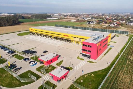 Ruszyła praca w nowoczesnym terminalu DHL Express w Poznaniu