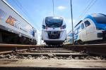 Pierwszy hybrydowy pociąg Kolei Dolnośląskich na testach w Żmigrodzie