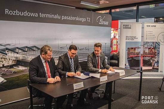 Port Gdańsk i Port Lotniczy Gdańsk wspólnie dla Portu Centralnego