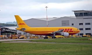 Lotnicze cargo w Niemczech na plusie