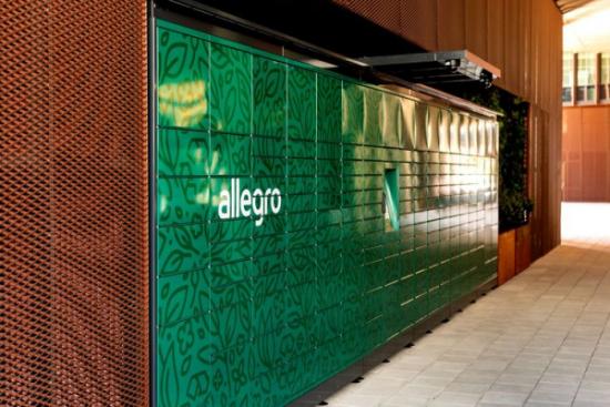 Allegro postawiło pierwsze ekologiczne automaty paczkowe w Poznaniu i Warszawie