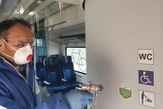 Nanotechnologia przeciwko wirusowi