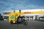 DHL Express wprowadza pierwszy w Polsce elektryczny rower kurierski