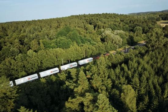 Nowa kolejowa oferta DB Schenker - pociąg z chińskiej prowincji Shandong