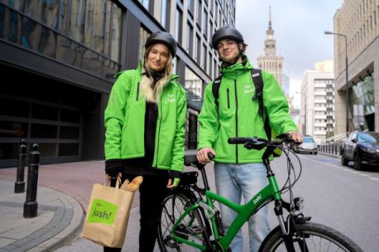 Grupa Żabka i Lite e-Commerce ruszają w Warszawie z pilotażem zakupów na Jush