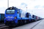 Hrubieszów powitał pierwszy pociąg z Chin, który wjechał szerokim torem LHS bez przeładunku na granicy