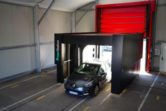 GEFCO testuje system zautomatyzowanej kontroli pojazdów ProovStation