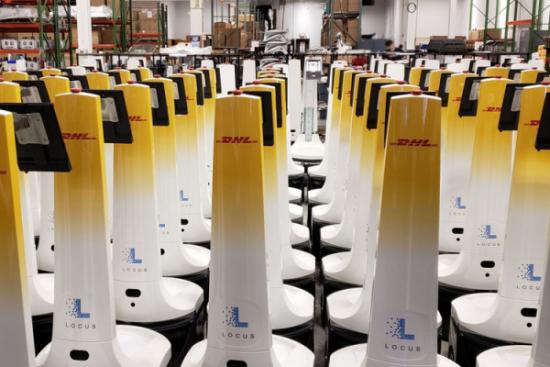 2000 robotów w DHL Supply Chain dzięki współpracy z Locus Robotics