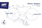 Z Warszawy do Singapuru - nowe połączenie LOT Cargo