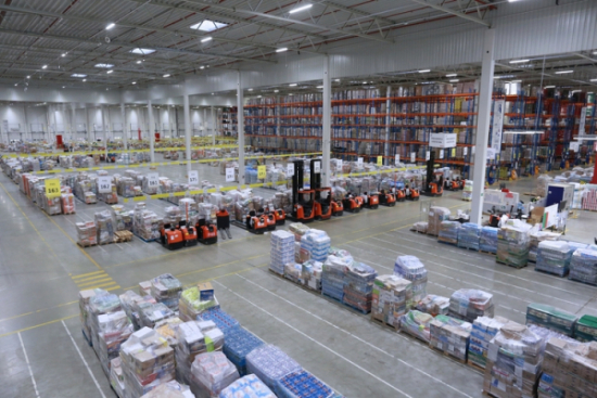 Mobilna przepakownia  ID Logistics